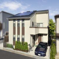太陽光発電搭載の機能性を追及したシンプルモダンな家