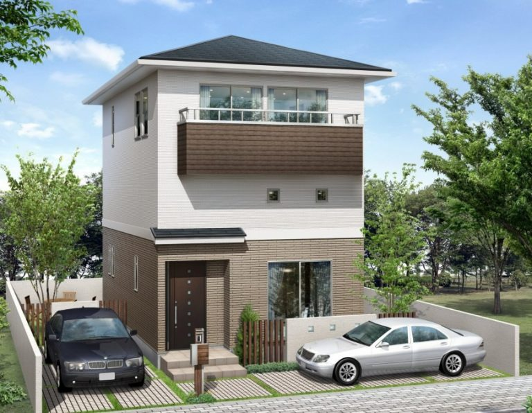 敷地を有効利用した大収納のある家「家族収納」