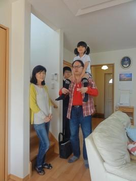 家族が自然に集まるリビング階段の家